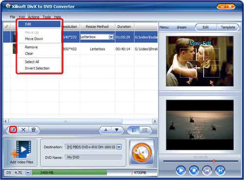 divx in dvd