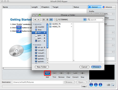Xilisoft DVD Ripper For Mac