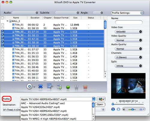 برامج جديدة - تحميل برامج - برامج كاملة - برامج 2010 X-dvd-to-appletv-converter-for-mac-2