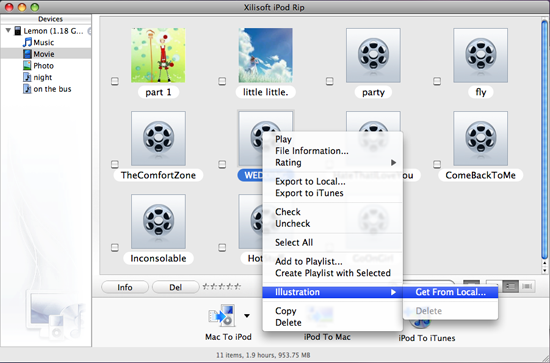 Xilisoft iPod Rip for Mac