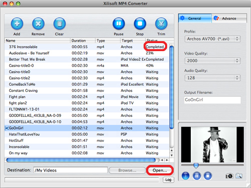 Xilisoft MP4 Converter per Mac