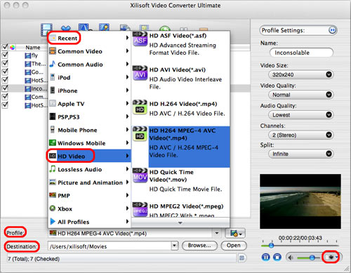Video converter per mac