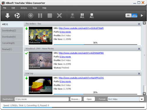 convertire video youtube