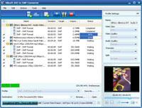 Xilisoft AVI to SWF Converter screenshot: avi to swf converter, convert avi to swf