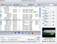Xilisoft DVD to iPhone Converter for Mac 5.0.37.0603