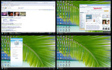 Click to view Xilisoft Multiple Desktops 1.0.2.0504 screenshot