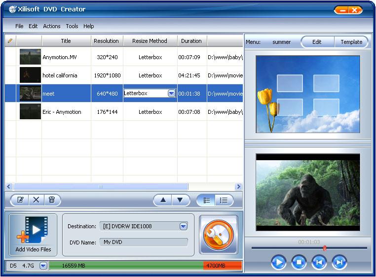 Xilisoft DVD Creator 3.0.36.0314