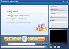 Click to view Xilisoft DVD Subtitle Ripper 1.1.19.0807 screenshot