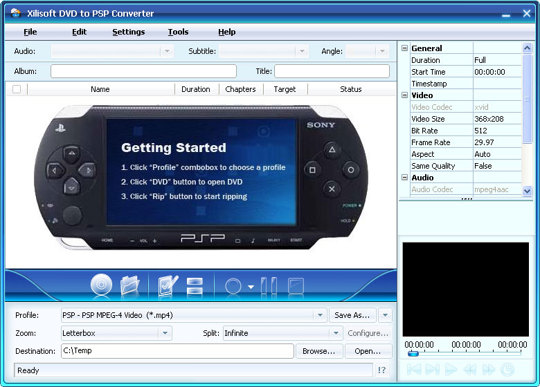 برامج جديدة - تحميل برامج - برامج كاملة - برامج 2010 Dvd-to-psp-converter