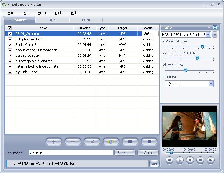 ������ Xilisoft Audio Maker Suite