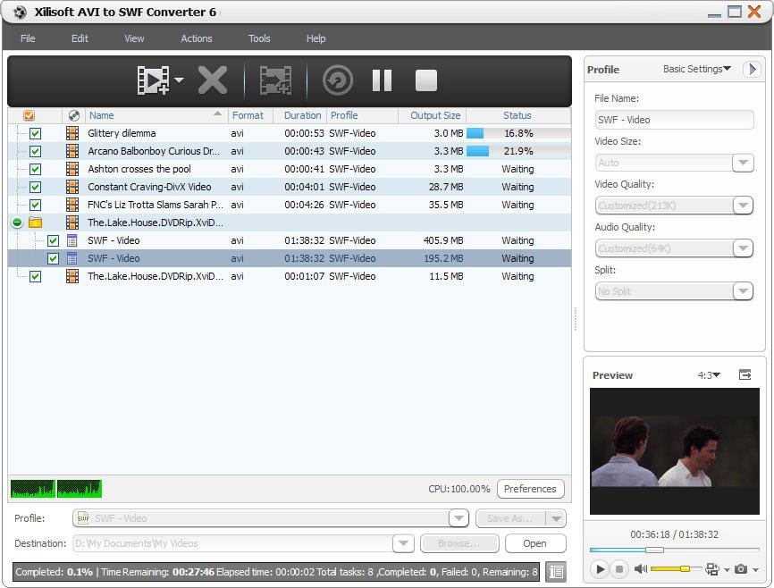 Xilisoft AVI to SWF Converter 6.0.3.0419