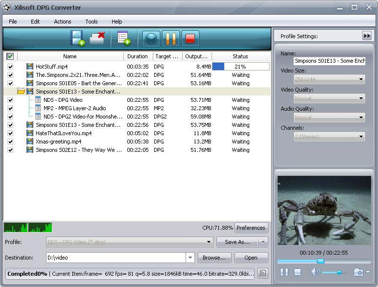 التعريب Xilisoft Converter Nintendo ملفات x-dpg-converter.jpg