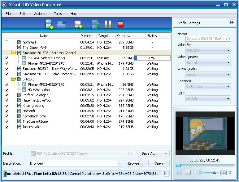 ����� Xilisoft HD Video Converter ������ ���� ����� ������� ����� �����