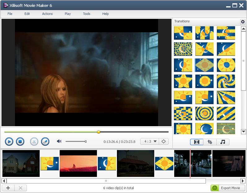 Windows 7 Xilisoft Movie Maker 6.5.2.0907 full