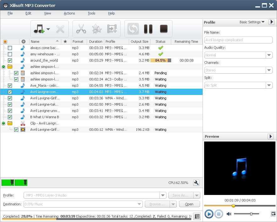 Xilisoft MP3 Converter 6.3.0.0805 full