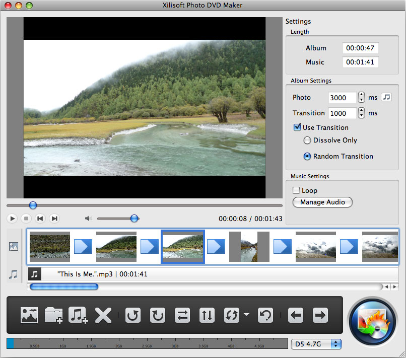 Xilisoft Photo DVD Maker for Mac 1.0.1.0719 full