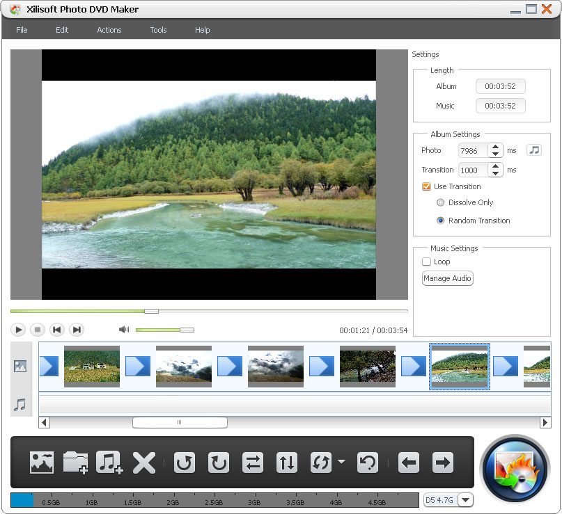 Xilisoft Photo DVD Maker 1.0.1.0618