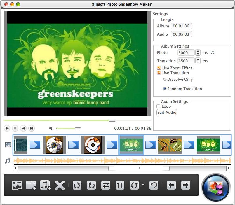Xilisoft Photo Slideshow Maker for Mac 1.0.2.0428