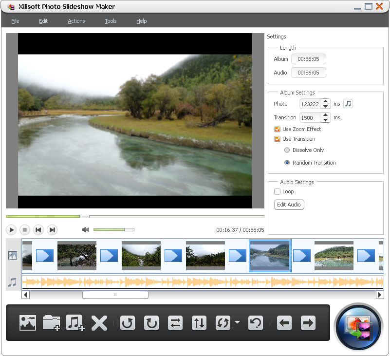 Xilisoft Photo Slideshow Maker 1.0.2.0214