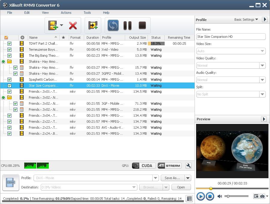 Xilisoft RMVB Converter 6.5.1.0120 full