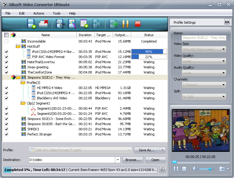 Xilisoft Video Converter Ultimate 5 1 2 0819 FINAL WORKING preview 1