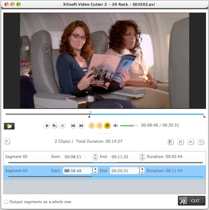 Xilisoft Video Cutter for Mac 2.0.1.0314