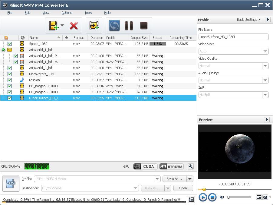 Xilisoft WMV MP4 Converter 6.5.1.0120