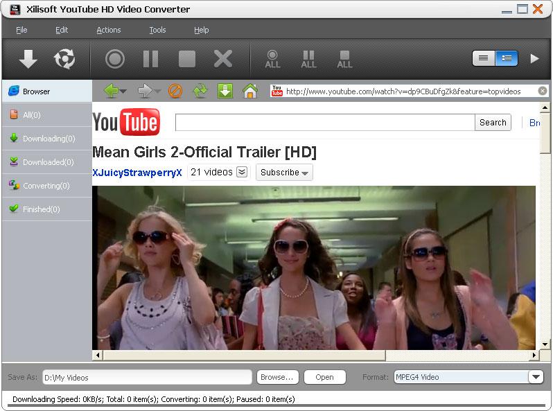 Download xilisoft youtube hd video downloader v3. 5. 5. 20130722.
